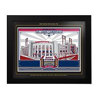 St. Louis Cardinals Busch Stadium Framed Wall Art