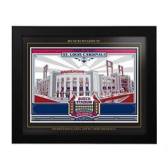 St. Louis Cardinals Busch Stadium Framed Wall Art