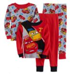 Disney / Pixar Cars 3 Toddler Boy 4 pc Cruz & Lightning McQueen Pajama Set