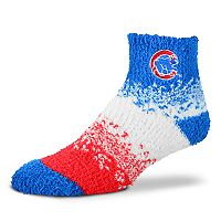 Women's For Bare Feet Chicago Cubs Marquee Sleep Socks