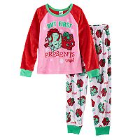 Girls 4-12 Present Pajama Set