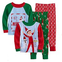 Toddler Boy The Elf on the Shelf® 4 pc Pajama Set