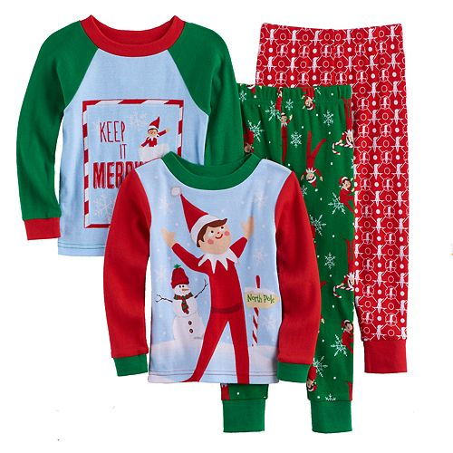 Toddler Boy The Elf on the Shelf® 4-pc. Pajama Set