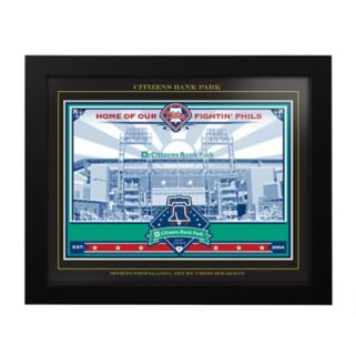 Philadelphia Phillies Citizens Bank Park Framed Wall Art