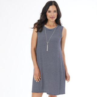Women's AB Studio Textured Shift Dress