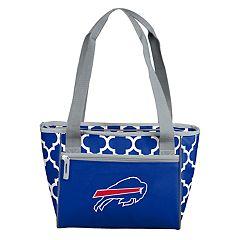 Logo Brand Buffalo Bills Quatrefoil 16-Can Cooler Tote