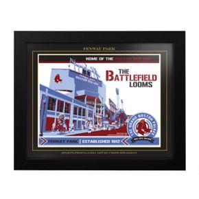 Boston Red Sox Fenway Park Framed Wall Art
