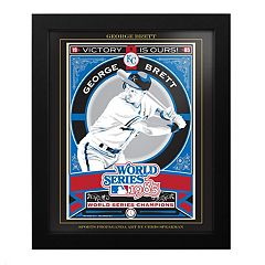 Kansas City Royals George Brett Framed Wall Art