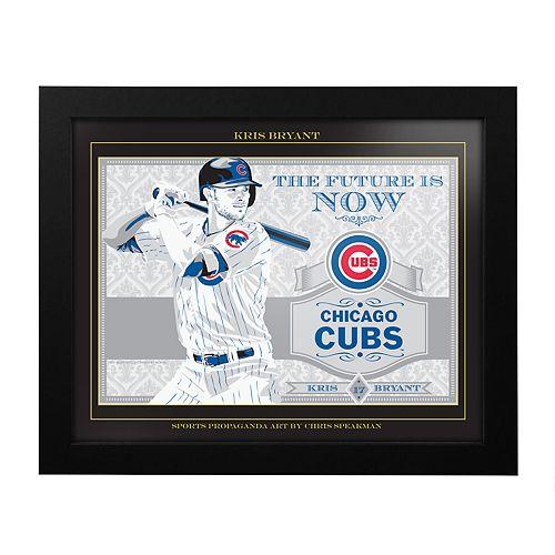 Chicago Cubs Kris Bryant Framed Wall Art