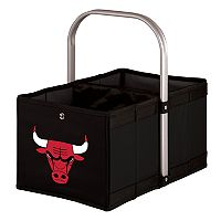 Picnic Time Chicago Bulls Urban Folding Picnic Basket