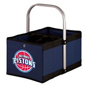 Picnic Time Detroit Pistons Urban Folding Picnic Basket