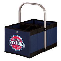 Picnic Time Detroit Pistons Urban Folding Picnic Basket