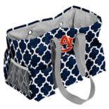 Logo Brand Auburn Tigers Quatrefoil Junior Caddy Tote