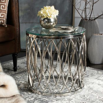 Safavieh Couture Geometric End Table