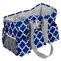 Logo Brand Kentucky Wildcats Quatrefoil Junior Caddy Tote