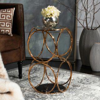 Safavieh Couture Corine Geometric End Table