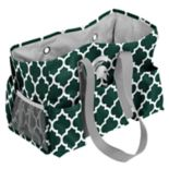 Logo Brand Michigan State Spartans Quatrefoil Junior Caddy Tote