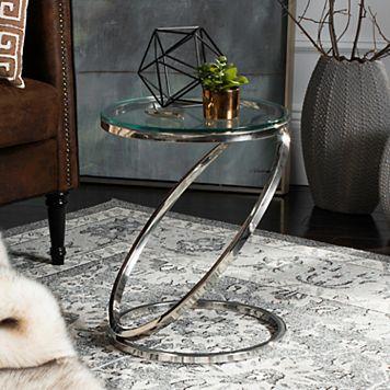 Safavieh Couture Dana Geometric End Table