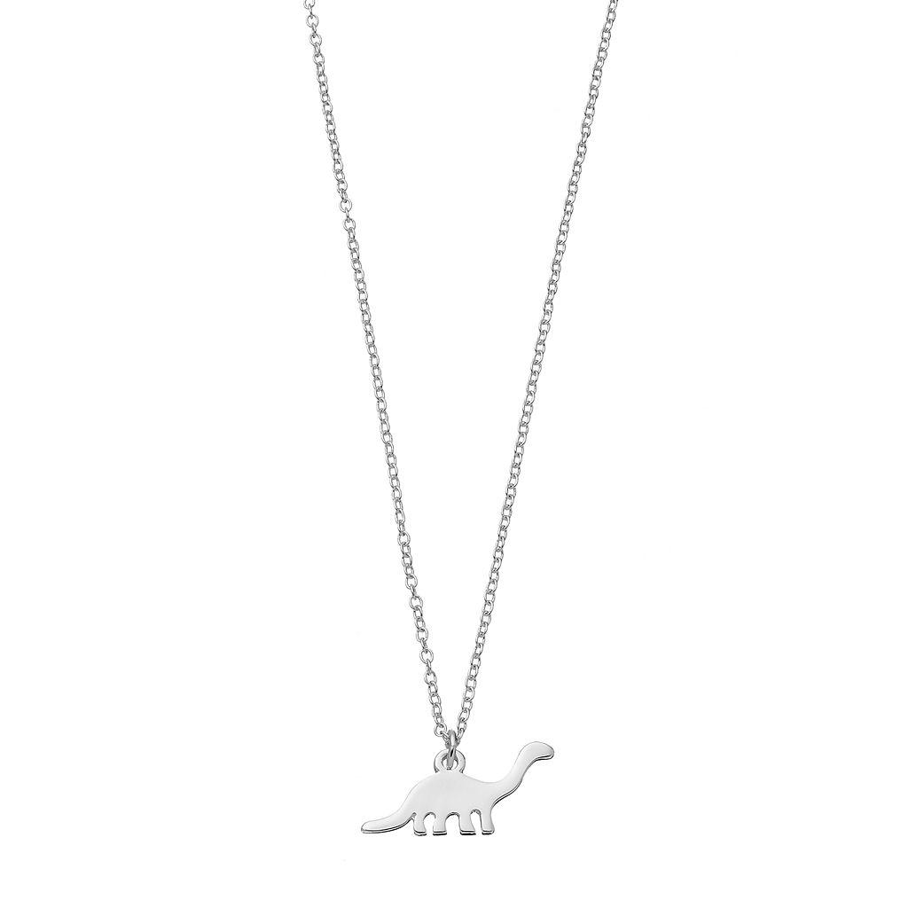 LC Lauren Conrad Dinosaur Pendant Necklace