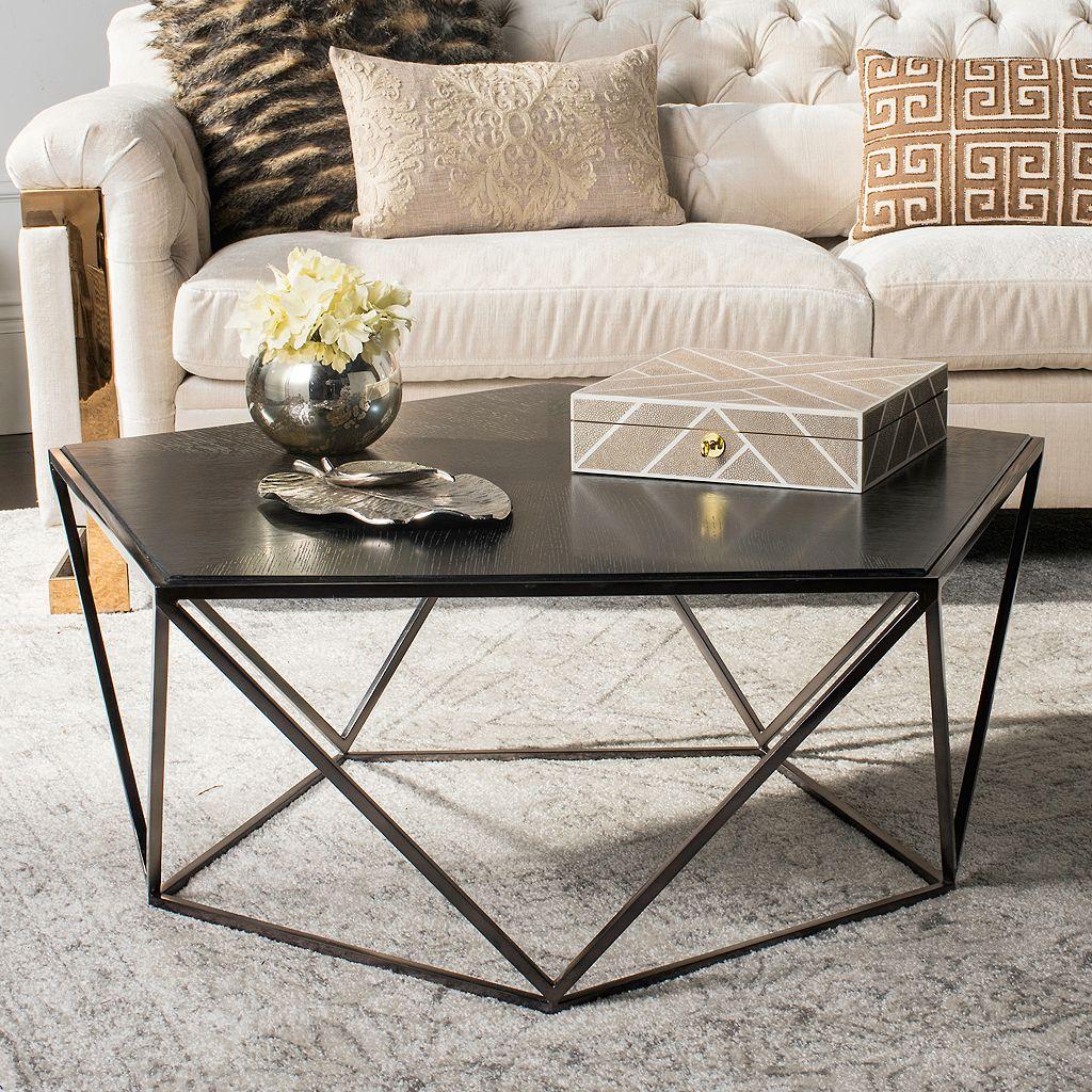 Safavieh Couture Alba Geometric Coffee Table