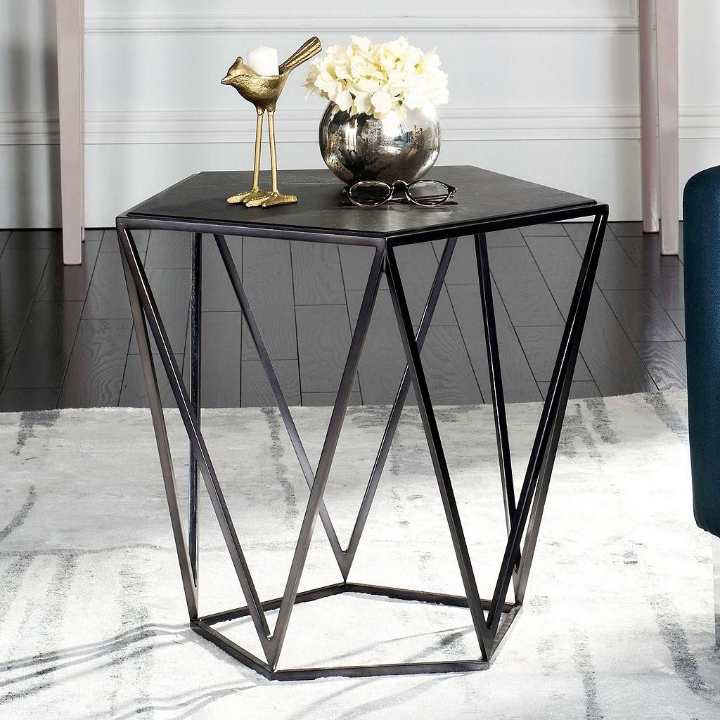 Safavieh Couture Alba Geometric End Table