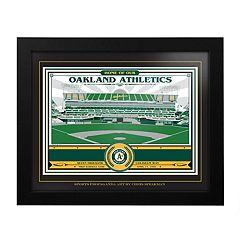 Oakland Athletics Oakland Coliseum Framed Wall Art