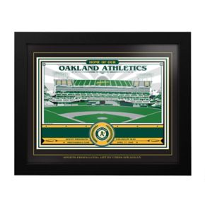 Oakland Athletics Oakland Coliseum Framed Wall Art