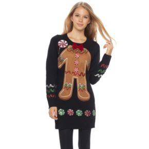 Juniors' It's Our Time Gingerbread Tunic