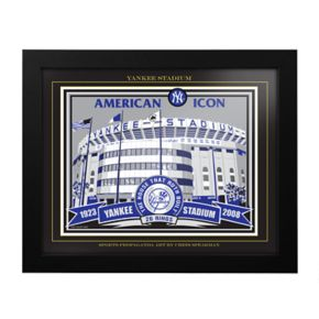 New York Yankees Old Yankee Stadium Framed Wall Art