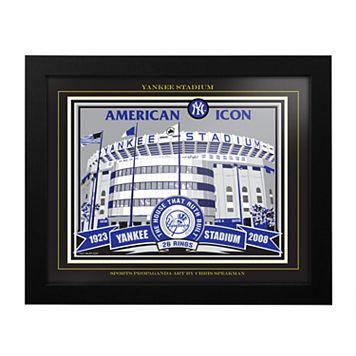 New York Yankees Old Yankee Stadium Framed Wall Art