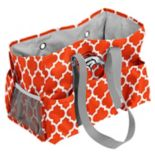 Logo Brand Denver Broncos Quatrefoil Junior Caddy Tote