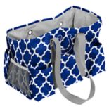Logo Brand Indianapolis Colts Quatrefoil Junior Caddy Tote