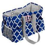 Logo Brand New York Giants Quatrefoil Junior Caddy Tote