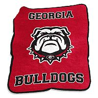 Logo Brand Georgia Bulldogs Mascot Throw Blanket