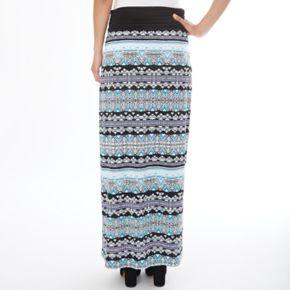 Women's Apt. 9® Geometric Maxi Skirt