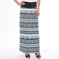 Women's Apt. 9® Geometric Maxi Skirt