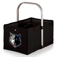 Picnic Time Minnesota Timberwolves Urban Folding Picnic Basket