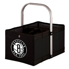 Picnic Time Brooklyn Nets Urban Folding Picnic Basket