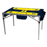 Logo Brand Michigan Wolverines Total Tailgate Portable Table
