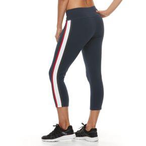 Women's FILA SPORT® Heritage Track Capri Leggings