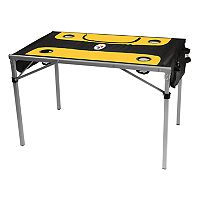 Logo Brand Pittsburgh Steelers Total Tailgate Portable Table