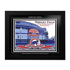 Chicago Cubs Wrigley Field Framed Wall Art