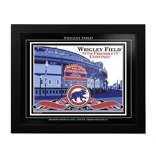 Chicago Cubs Wrigley Field Framed Wall Art