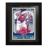 St. Louis Cardinals Yadier Molina Framed Wall Art