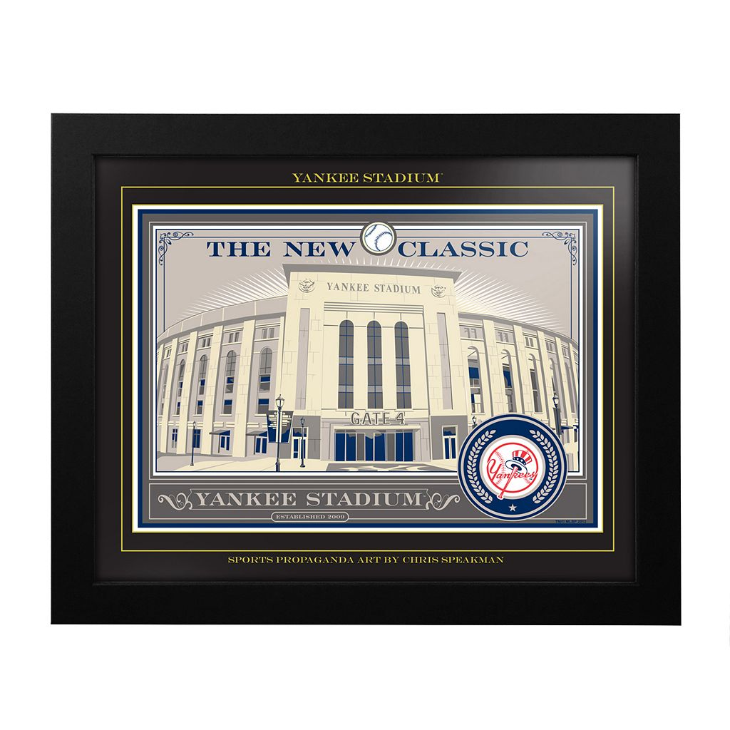 New York Yankees Yankee Stadium Framed Wall Art