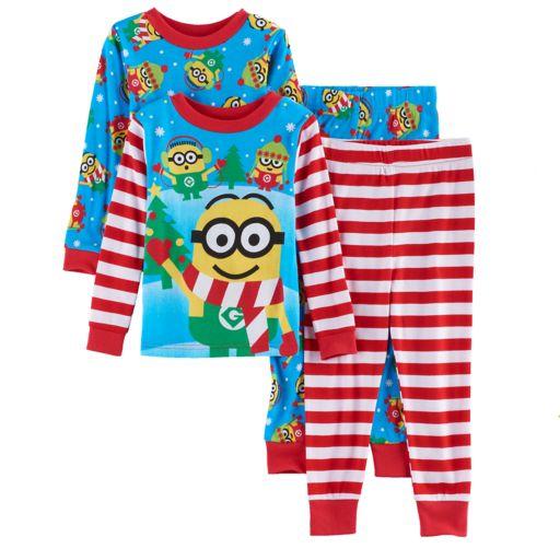 Toddler Boy Despicable Me 3 Minion Holiday Pajama Set