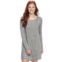 Juniors' Love, Fire Lightweight Sweater Dress