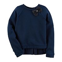 Girl's 4-8 Carter's Bow Sweater