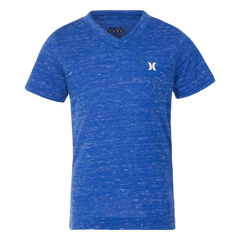 Boys 4-7 Hurley Slubbed V-Neck Tee