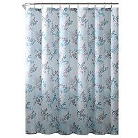 VCNY Serena Shower Curtain & Rug Bath Set